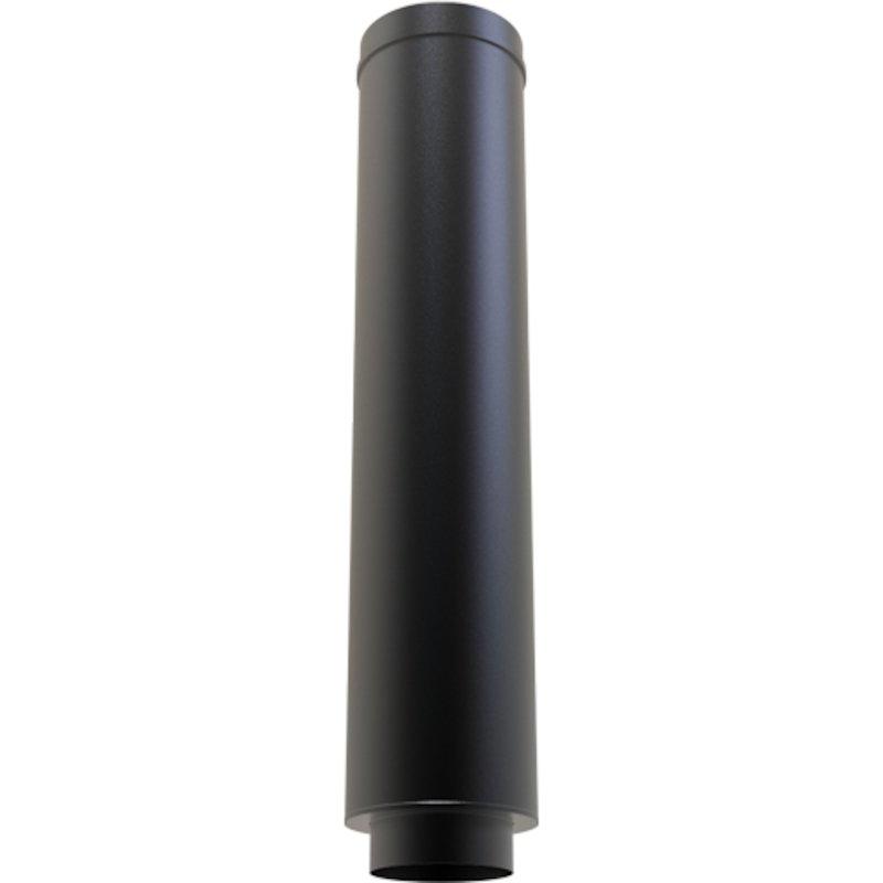 Convesa KC Twinwall Flue 1m Starter Length inc Appliance Connector - Black