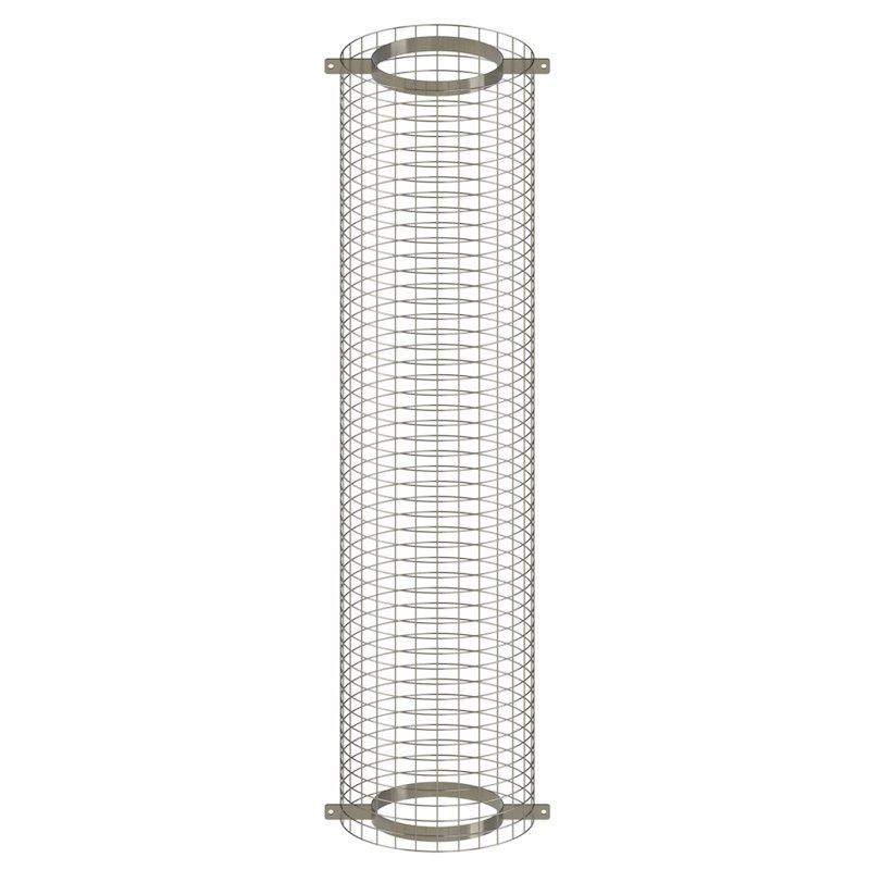 Midtherm HTS Twinwall Flue 1.2m Loft Enclosure - Silver Filigree