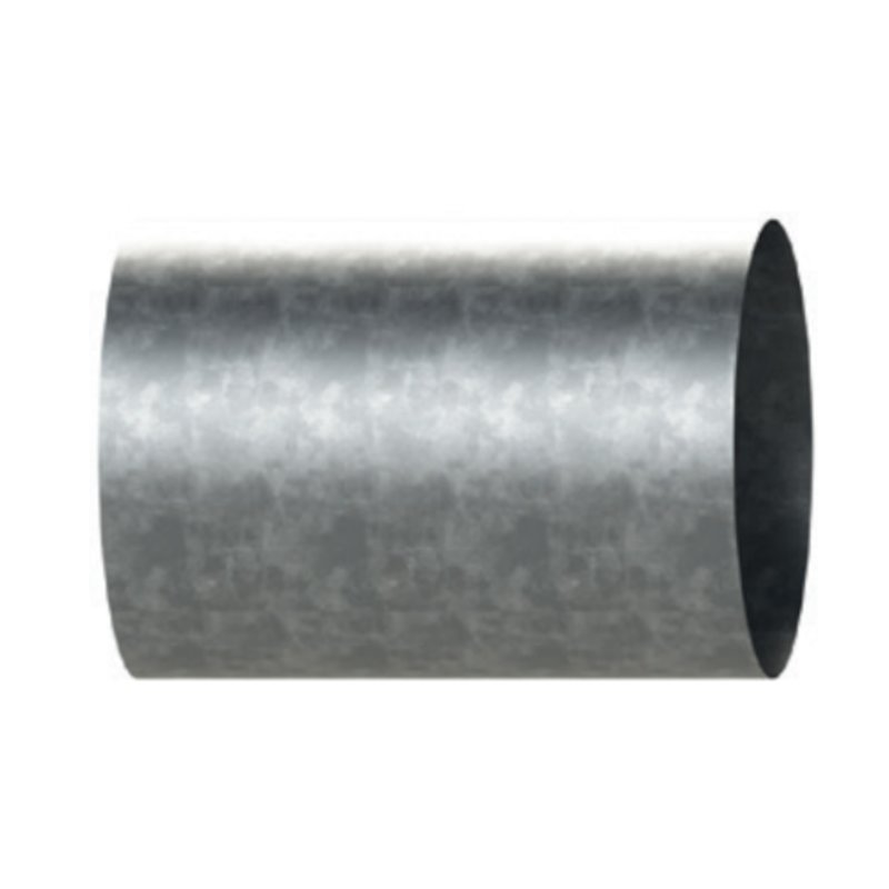 Midtherm HTS Twinwall Flue 500mm Wall Sleeve - Galvanised