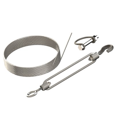 Midtherm HTS Twinwall Flue Guy Wire Kit