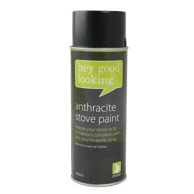 Arada Heat Resistant Stove Paint - Aerosol Spray