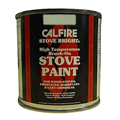 Stovebright Heat Resistant Stove Paint - Tin