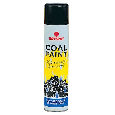 Hotspot Heat Resistant Coal Paint - Aerosol Spray
