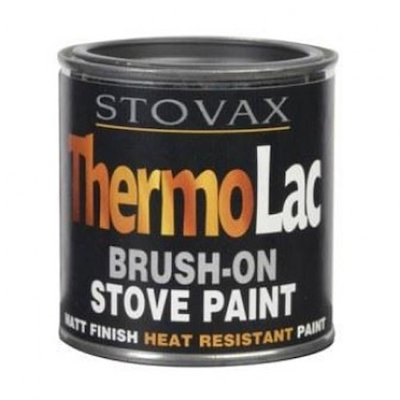 Thermolac Heat Resistant Stove Paint - Tin