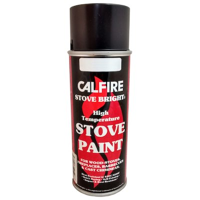 Stovebright Medium Temperature Clear Paint - Aerosol Spray