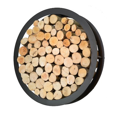Harrod Circular Wall Mounted Log Holder