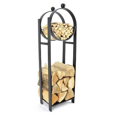 Manor Blacksmith Stand Log Holder
