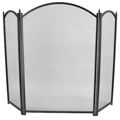 Manor Dynasty Plus 3 Fold Small Fire Screen