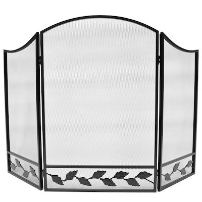Manor Chartley 3 Fold Fire Screen