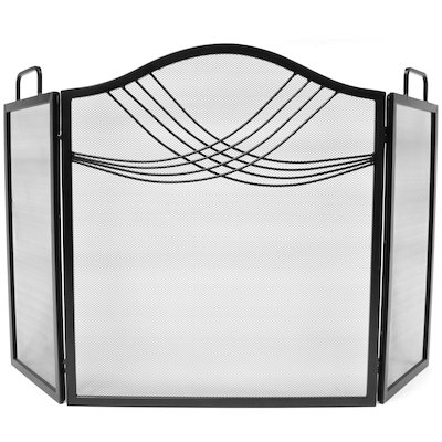 Manor Fourline 3 Fold Fire Screen