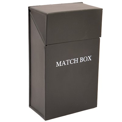 Calfire Match Box Holder - With Lid