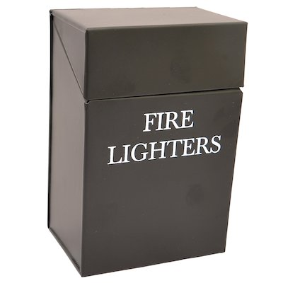 Calfire Fire Lighters Box Holder - With Lid