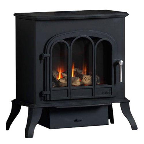 Burley Thurlby Balanced Flue Gas Stove - Black