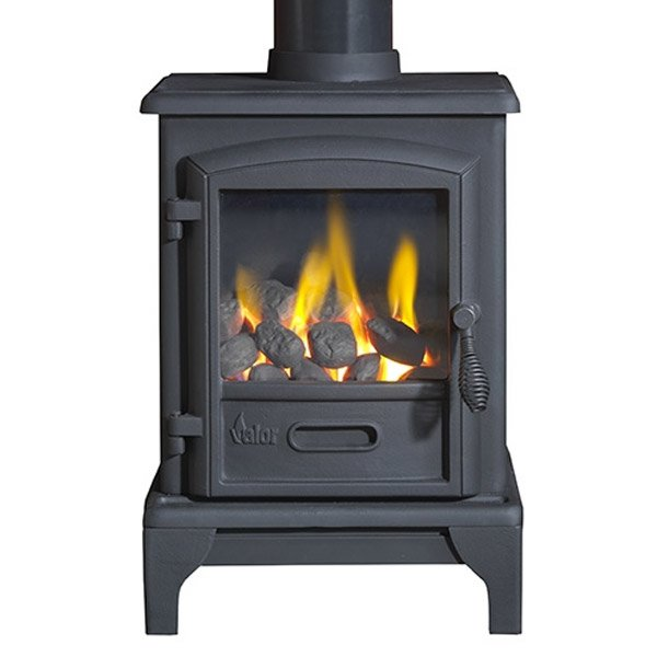 Valor Brunswick Conventional Flue Gas Stove - Black