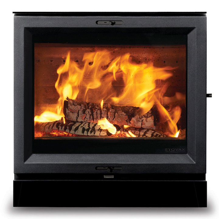 Stovax View 5 Wide Multifuel Stove - Black