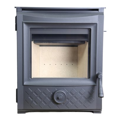 ESSE 301 Multifuel Inset Stove Black Traditional Door