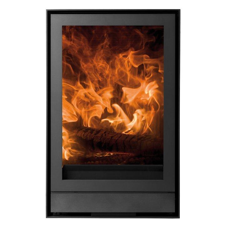 Nestor Martin IQH33 Wood Cassette Fire Black Frameless/Edge - Black