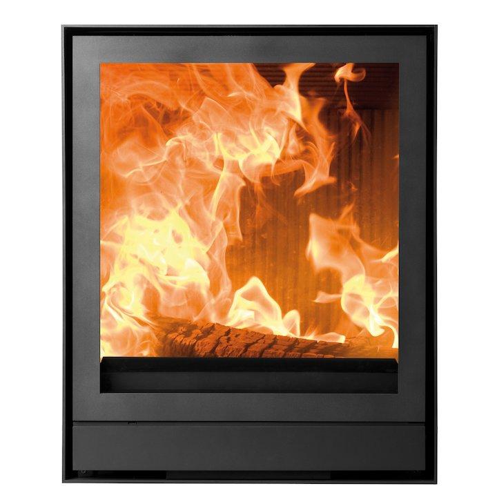 Nestor Martin IQH43 Wood Cassette Fire Black Frameless/Edge - Black