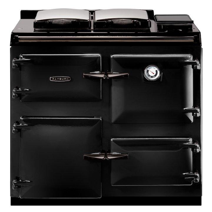 Rayburn 400K Kerosene Oil Range Cooker - Enamel Black