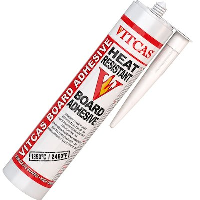 Vitcas Heat Resistant Board Adhesive 310ml Cartridge