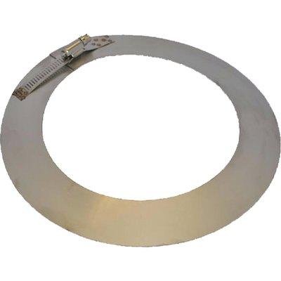 Quattro Plus Solid Fuel Register Plate Debris Collar