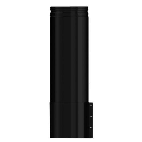 Midtherm HTS Twinwall Flue 500mm Starter Length inc Appliance Connector - Black