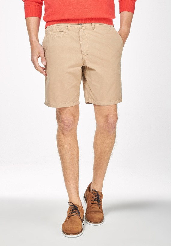 Bermuda chino regular - Beige