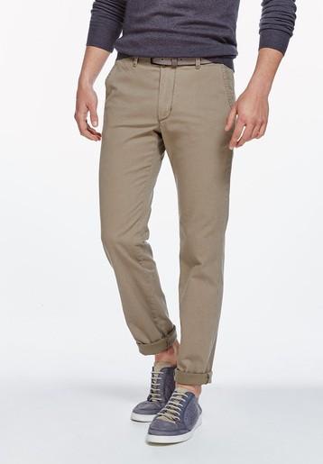 Pantalón chino estampado híbrido