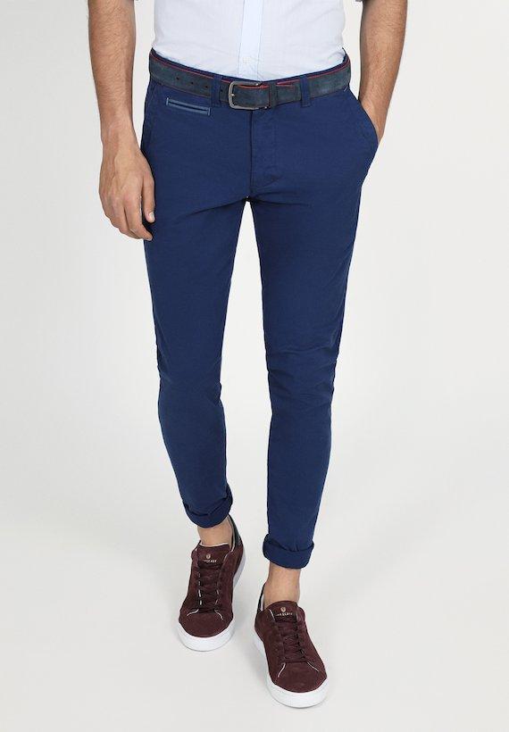Pantalones Casual Hombre Pantalones Chinos Y 5 Bolsillos