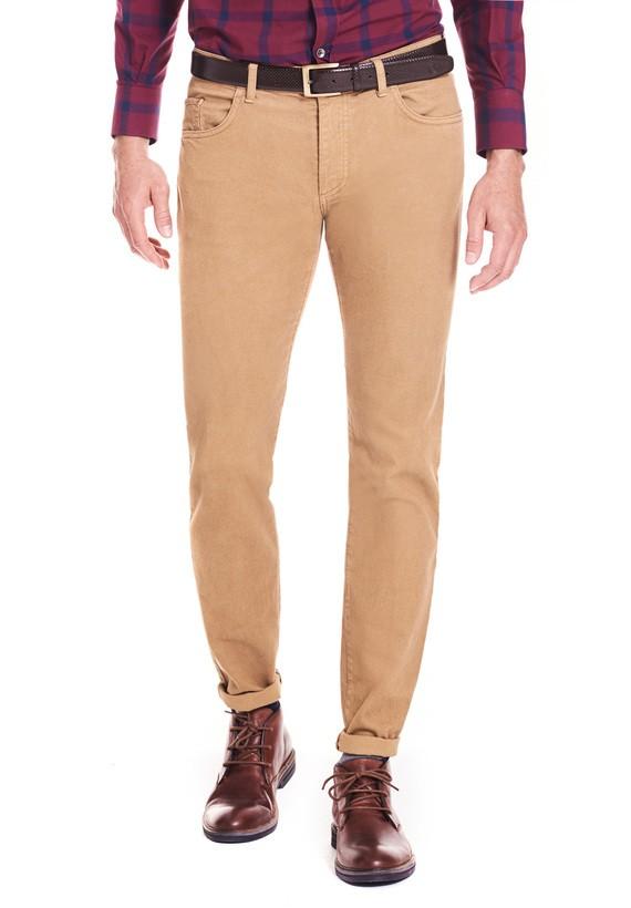 Pantalón 5 bolsillos estructura slim