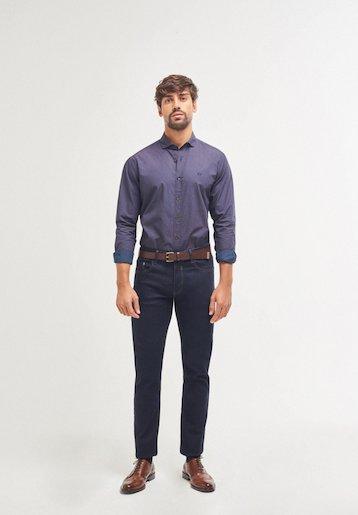 Pantalón vaquero semi slim