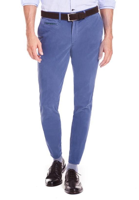 Pantalón chino gabardina slim