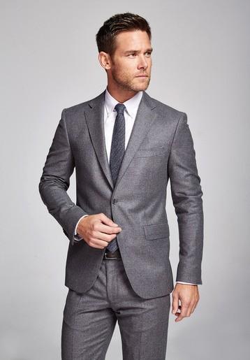 Americana lana medium gris