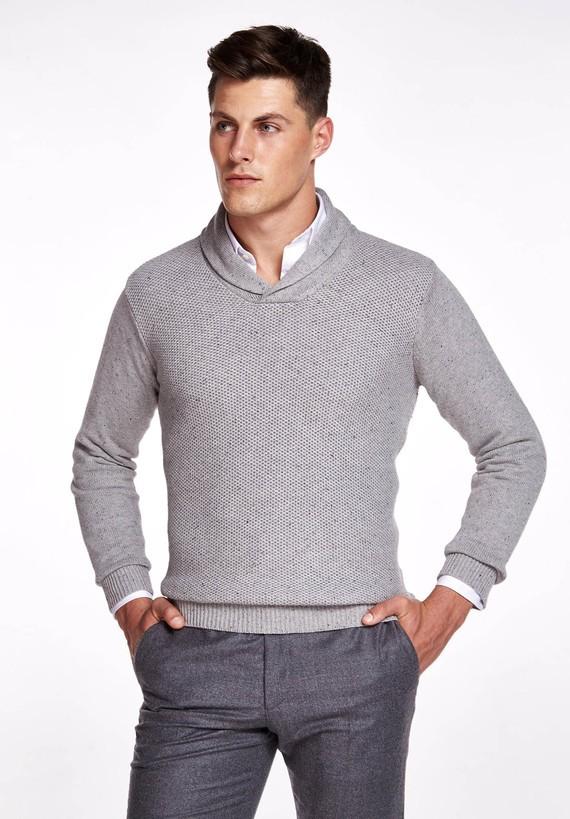 Jersey algodón moteado
