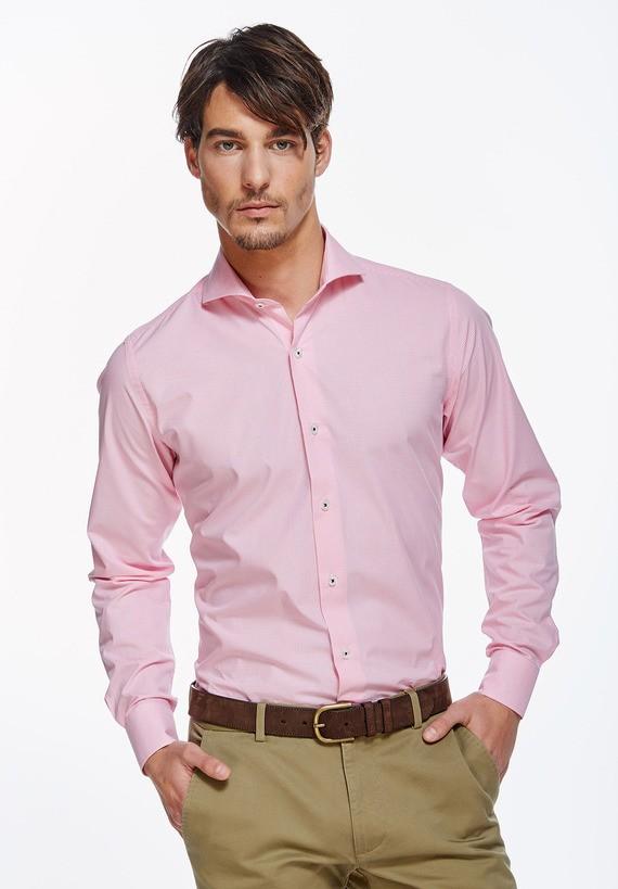 Camisa vestir cuadros slim