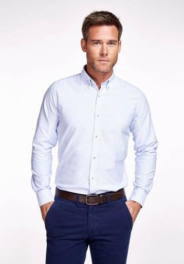 Camisa algodón oxford