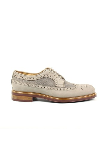 Zapato Oxford en nobuck