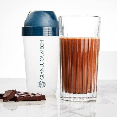 Bebida con sabor a chocolate negro