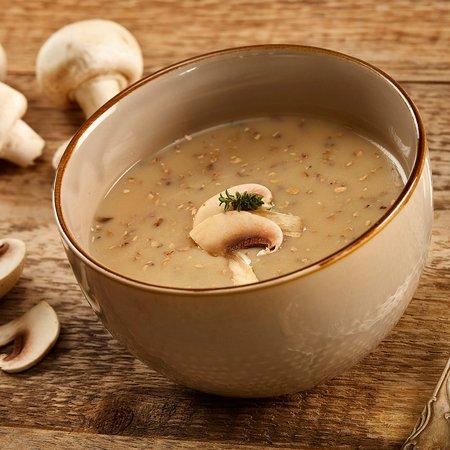 Zuppa al gusto di funghi