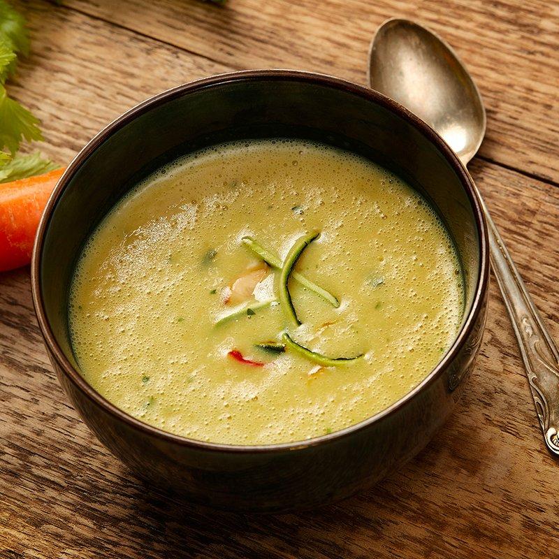 Zuppa al gusto di verdure