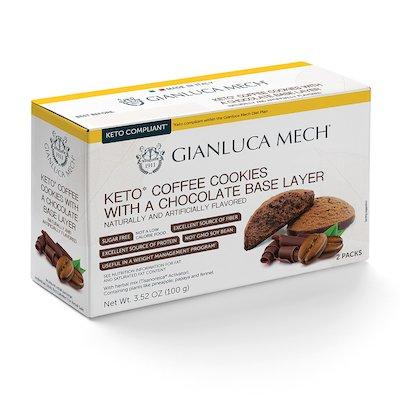 Frollini gusto caffe' con base al cioccolato