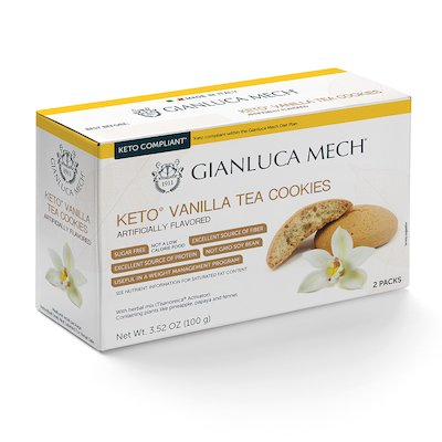KETO VANILLA TEA COOKIES