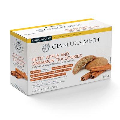 KETO APPLE AND CINNAMON TEA COOKIES