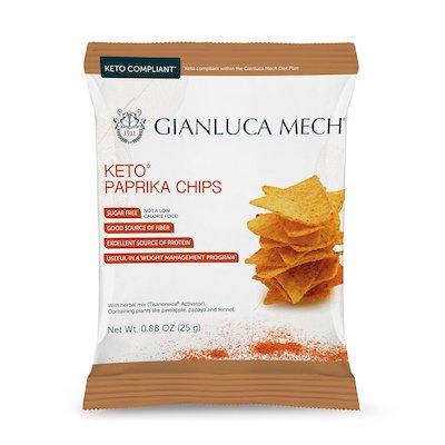Snack salato gusto paprika (1 box contiene 12 confezioni)