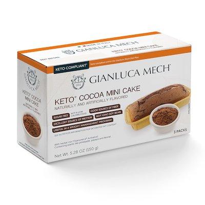Pastel con sabor a cacao