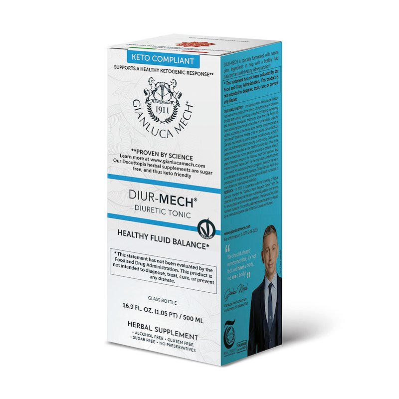 DIUR-MECH - DIURETIC TONIC 500ML