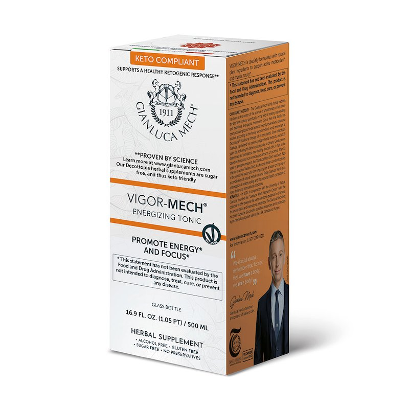 VIGOR MECH – ENERGIZING TONIC