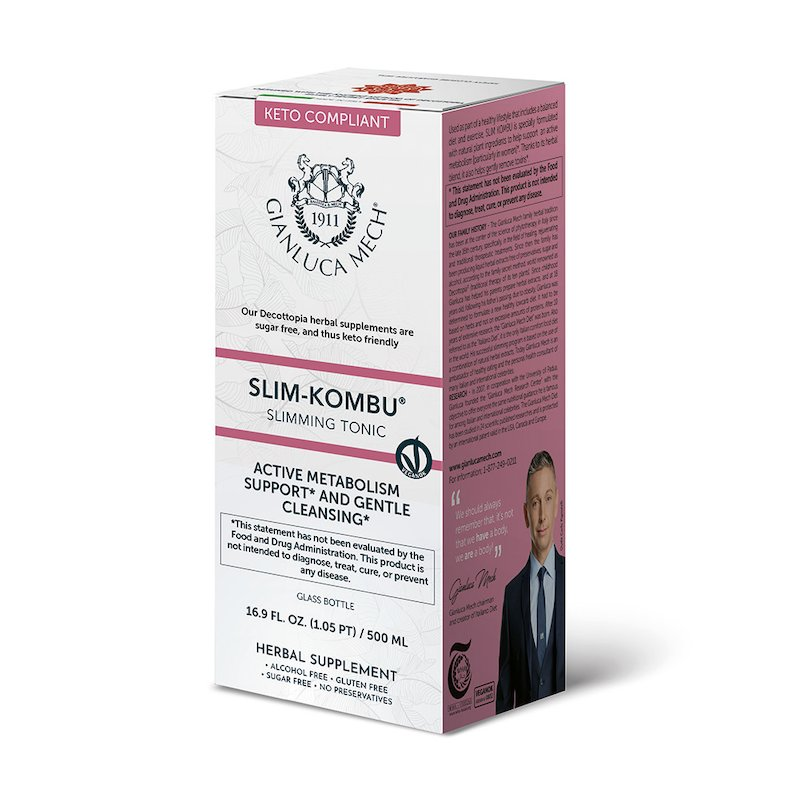 Slimming tonic - Slim Kombu (GF)