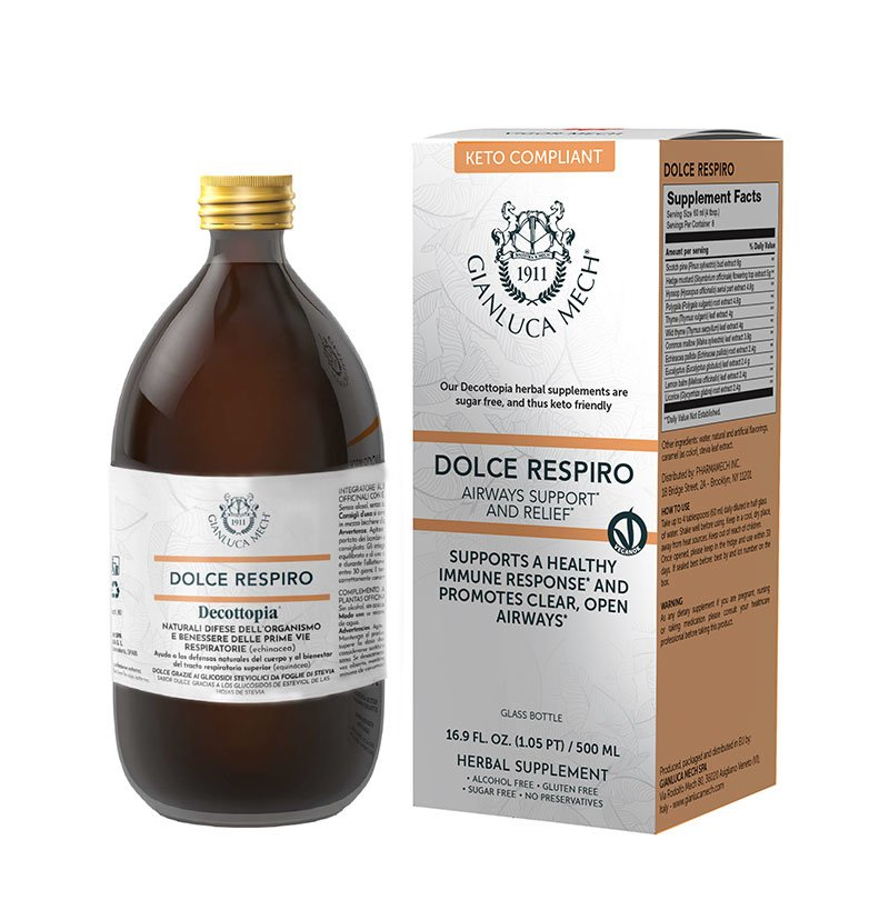 DOLCE RESPIRO - AIRWAYS SUPPORT AND RELIEF* - KETO COMPLIANT