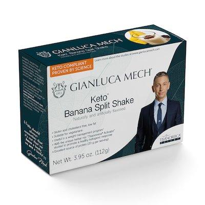 KETO BANANA SPLIT SHAKE